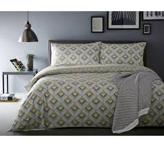 Yellow Bedding Set Buy Appletree Axis Yellow Bedding Set Superking At Argos Co Uk