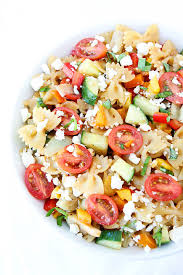 easy salad recipe easy summer pasta salad recipe two peas their pod