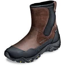 merrell men u0027s polar side zip boot herrington catalog