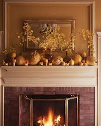 45 great thanksgiving mantel decorating ideas shelterness