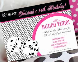 bunco party bunco invitations for christmas for christmas