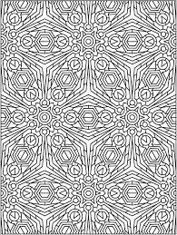 tessellation coloring pages shishita world com