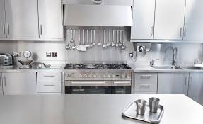 Kitchen Cabinets Stainless Steel Stainless Steel Kitchen Cabinet Worktops U0026 Splash Backs Uk