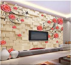 compare prices on rose wall mural online shopping buy low price custom 3d photo wallpaper 3d wall murals wallpaper 3 d rose tracery wall flower vine tv