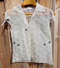 cynthia rowley blouse the cat and the bee ebay cynthia rowley honeycomb bee silk blouse