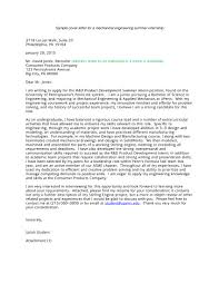 Cover Letter Example For Students 16 Best Cover Letter Samples For Internship Wisestep