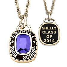 high school class necklaces senior class rings and necklaces jewelry
