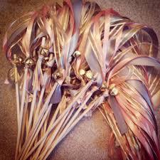 ribbon wands that s influence wedding diy getaway ribbon wands