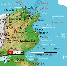 tunisia physical map tunisia wannasurf surf spots atlas surfing photos maps gps