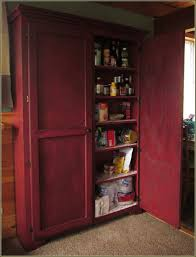 kitchen unfinished wooden free standing kitchen pantry with 2