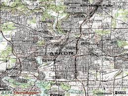 of akron map akron ohio oh profile population maps estate averages