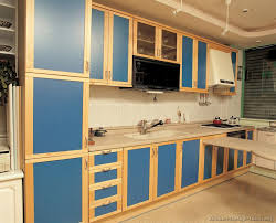 Light Blue Kitchen Cabinets Contemporary Blue Kitchen Cabinets On Kitchen Design Ideas