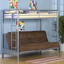 Bunk Bed With Desk And Futon Bedroom Bunkbed With Futon Loft Bed With Futon Wood Bunk Bed