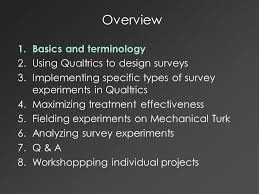 qualtrics theme design designing and implementing online survey experiments doug ahler