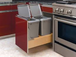 kitchen stunning kitchen trash cans with lids recycle trash cans