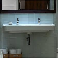 trough sink bathroom smartly cse leaks