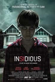 insidious one super scary movie i prefer horror movies like