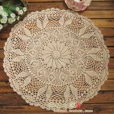 beautiful table cloth design free shipping 2014 beautiful design cotton crochet table pad cutout