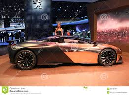 onyx peugeot peugeot car onyx concept editorial photo image 33585446