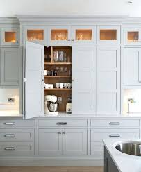 coastal cream tall cabinets how deep are standard base kitchen
