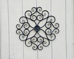 Iron Wrought Wall Decor Outdoor Metal Wall Art Wall Decor Faux Wrought Iron Metal Wall