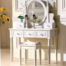 make up dressers dresser european style bedroom makeup table ivory white small