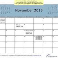 november 2013 calendar thanksgiving day divascuisine