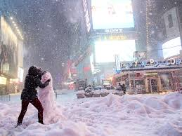 Worst Snowstorm In History by New York City Snow Follow Bizarre Pattern Business Insider