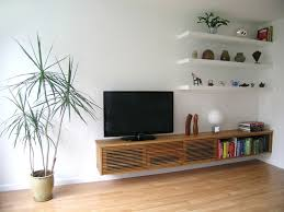 livingroom shelves 21 floating media center designs for clutter free living room