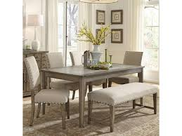 Liberty Furniture Dining Table by Liberty Furniture Weatherford Rustic Casual 6 Piece Dining Table