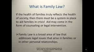 the role of the family law paralegal youtube