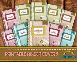 Scrapbook Binder Home Management Binder Covers Binder Cover Templates