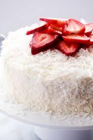 Coconut Cake Recipe Strawberry Coconut Cream Cake With Coconut Cream Cheese Frosting