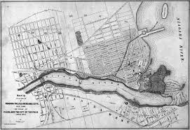 Map Of The Erie Canal Historical Maps Of Niagara