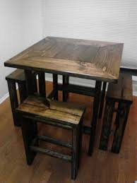 Best Rustic Kitchen Tables Ideas On Pinterest Diy Dinning - Dining kitchen table