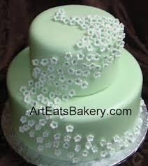 Wedding Cake Green Modern Floral Wedding Cake Designs Art Eats Bakery Taylor U0027s Sc