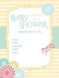 Create An Invitation Card Free Design Free Baby Shower Invitations