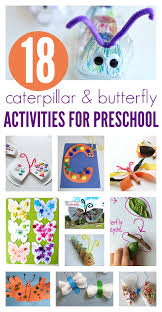 18 caterpillar butterfly activities for preschool and books