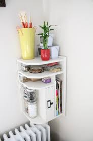 Craft Desk Organizer Craft Space Redo Part 1 Desk Organizer To Corner Shelf Conversion