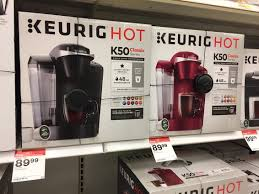 target black friday 2017 keurig keurig k50 classic coffee maker only 74 99 at target the