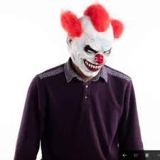 Halloween Clowns Costumes 2017 Joker Clown Costume Mask Creepy Evil Scary Halloween Clown