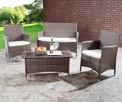 outdoor u0026 garden wicker patio furniture for the touch of nature