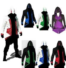 Assassins Creed Kid Halloween Costume Sale Assassins Creed 3 Iii Conner Kenway Hoodie Coat Jacket