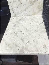 Tile Countertops Kitchen Granite Tile Countertop In Bianco Romano Affordable Cream Gray