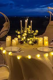 cena al lume di candela 4 idee di decorazione per una serata romantica