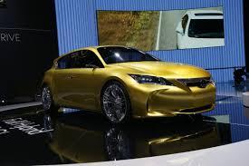 lexus luxury hatchback lexus lf ch production version of five door hatchback rival to