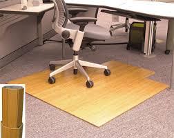 amb24010 anji bamboo desk chair mat 245 00 48 x 52 5