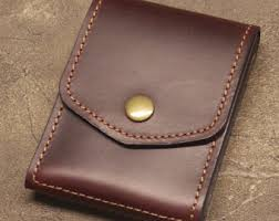 alumni wallet burgundy cabrio horween leather wallet credit card business
