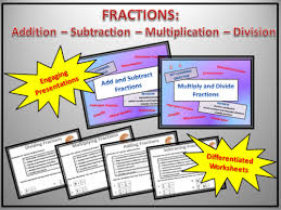 fractions multiplying u0026 dividing worksheets by dooble teaching