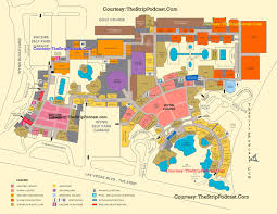 Las Vegas Strip Map List Of Hotels In Vegas Rouydadnews Info